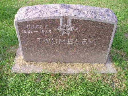 TWOMBLEY, LOUISE F - Bremer County, Iowa | LOUISE F TWOMBLEY