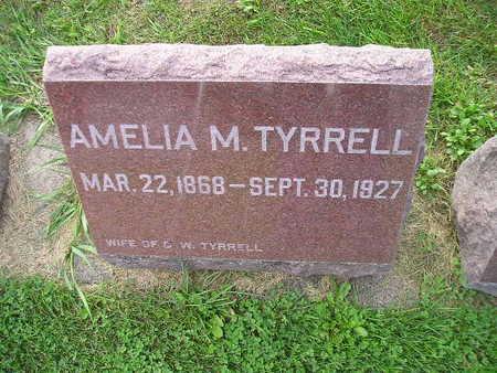 TYRRELL, AMELIA M - Bremer County, Iowa | AMELIA M TYRRELL