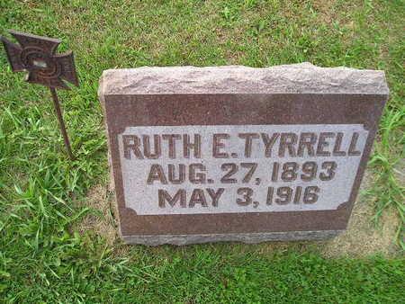 TYRRELL, RUTH E - Bremer County, Iowa | RUTH E TYRRELL