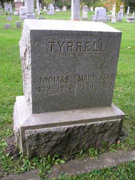 TYRRELL, THOMAS - Bremer County, Iowa | THOMAS TYRRELL