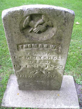 TYRRELL, THOMAS W - Bremer County, Iowa | THOMAS W TYRRELL