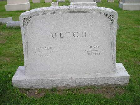 ULTCH, MARY - Bremer County, Iowa   MARY ULTCH