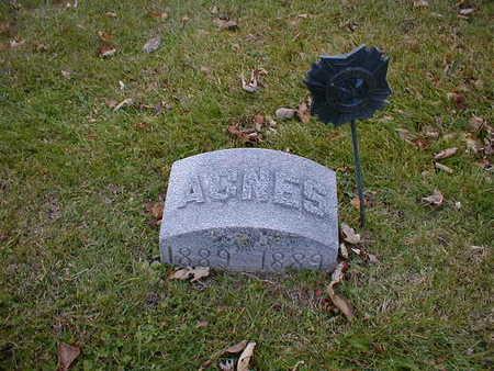UNKNOWN, AGNES - Bremer County, Iowa | AGNES UNKNOWN