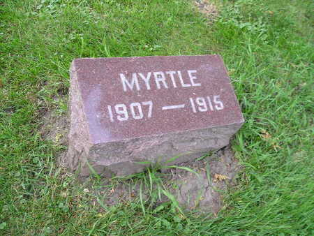 UNKNOWN, MYRTLE - Bremer County, Iowa | MYRTLE UNKNOWN