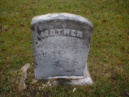 UNKNOWN, MOTHER - Bremer County, Iowa | MOTHER UNKNOWN