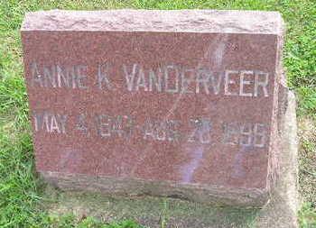 VANDERVEER, ANNIE K - Bremer County, Iowa | ANNIE K VANDERVEER