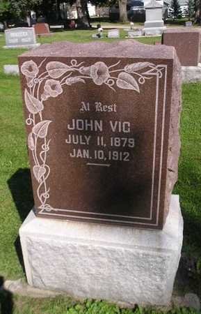 VIC, JOHN - Bremer County, Iowa | JOHN VIC