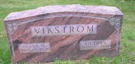VIKSTROM, CLARA M - Bremer County, Iowa   CLARA M VIKSTROM