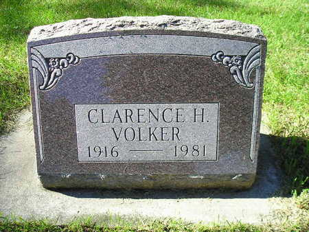 VOLKER, CLARENCE H - Bremer County, Iowa | CLARENCE H VOLKER