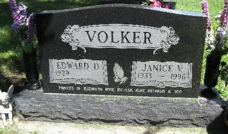VOLKER, JANICE V. - Bremer County, Iowa   JANICE V. VOLKER