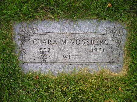VOSSBERG, CLARA M - Bremer County, Iowa   CLARA M VOSSBERG