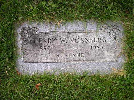 VOSSBERG, HENRY W - Bremer County, Iowa   HENRY W VOSSBERG