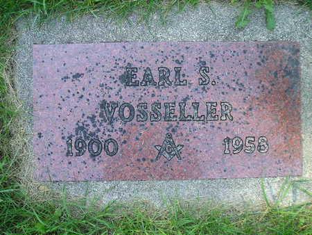 VOSSELLER, EARL S - Bremer County, Iowa   EARL S VOSSELLER