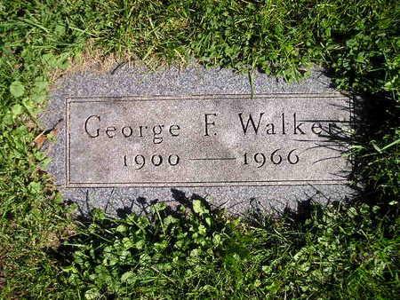 WALKER, GEORGE F - Bremer County, Iowa   GEORGE F WALKER