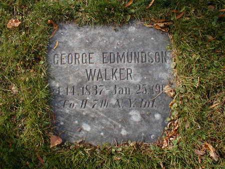 WALKER, GEORGE EDMUNDSON - Bremer County, Iowa | GEORGE EDMUNDSON WALKER