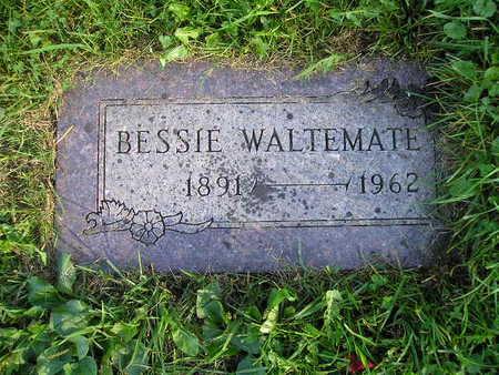 WALTEMATE, BESSIE - Bremer County, Iowa   BESSIE WALTEMATE