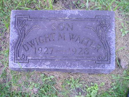 WALTER, DWIGHT M - Bremer County, Iowa | DWIGHT M WALTER