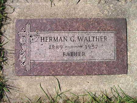 WALTHER, HERMAN G - Bremer County, Iowa | HERMAN G WALTHER