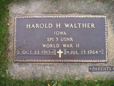 WALTHER, HAROLD H - Bremer County, Iowa | HAROLD H WALTHER