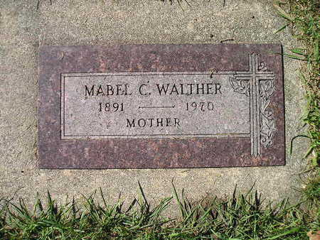 WALTHER, MABEL C - Bremer County, Iowa   MABEL C WALTHER