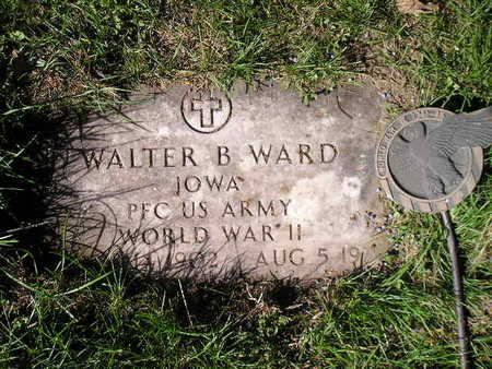 WARD, WALTER B - Bremer County, Iowa | WALTER B WARD