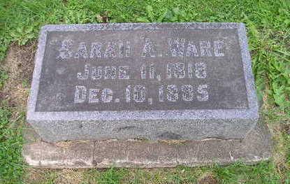 WARE, SARAH H. - Bremer County, Iowa | SARAH H. WARE