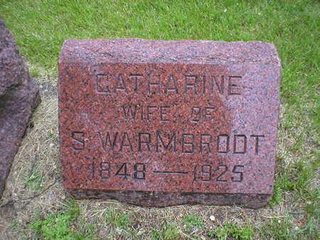 WARMBRODT, CATHARINE - Bremer County, Iowa | CATHARINE WARMBRODT