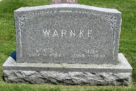 WARNKE, LOUIS - Bremer County, Iowa | LOUIS WARNKE