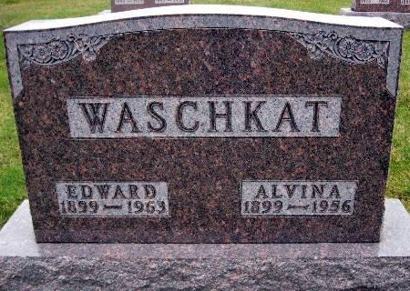 WASCHKAT, EDWARD - Bremer County, Iowa   EDWARD WASCHKAT