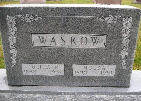 WASKOW, HULDA - Bremer County, Iowa | HULDA WASKOW