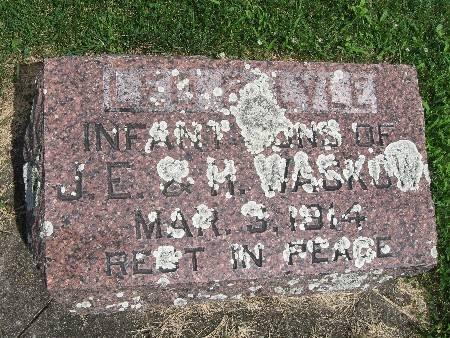 WASKOW, LYLE - Bremer County, Iowa   LYLE WASKOW