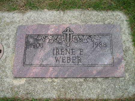 WEBER, IRENE E - Bremer County, Iowa | IRENE E WEBER