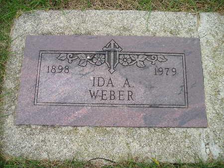 WEBER, IDA A - Bremer County, Iowa | IDA A WEBER