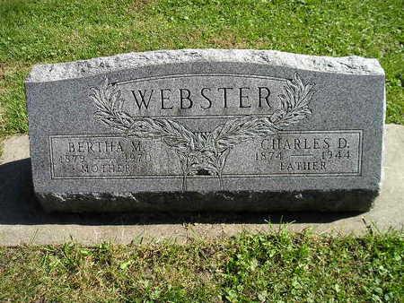 WEBSTER, BERTHA M - Bremer County, Iowa | BERTHA M WEBSTER