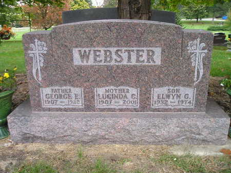 WEBSTER, GEORGE E - Bremer County, Iowa | GEORGE E WEBSTER