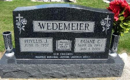 WEDEMEIER, DUANE C - Bremer County, Iowa | DUANE C WEDEMEIER