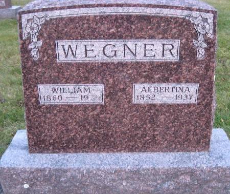 WEGNER, ALBERTINA - Bremer County, Iowa   ALBERTINA WEGNER