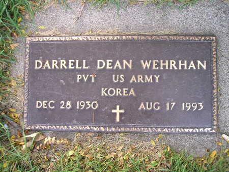 WEHRHAN, DARRELL DEAN - Bremer County, Iowa | DARRELL DEAN WEHRHAN