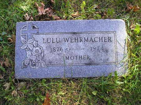 WEHRMACHER, LULU - Bremer County, Iowa | LULU WEHRMACHER