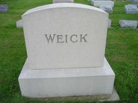 WEICK, FAMILY - Bremer County, Iowa | FAMILY WEICK