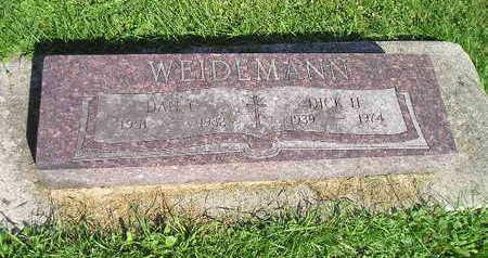 WEIDEMANN, DICK H - Bremer County, Iowa | DICK H WEIDEMANN