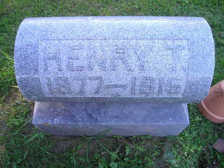 WEIDEMANN, HENRY T - Bremer County, Iowa | HENRY T WEIDEMANN