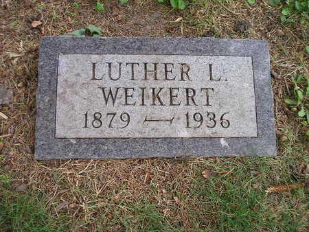 WEIKERT, LUTHER L - Bremer County, Iowa   LUTHER L WEIKERT