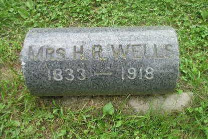 WELLS, MRS H R - Bremer County, Iowa | MRS H R WELLS