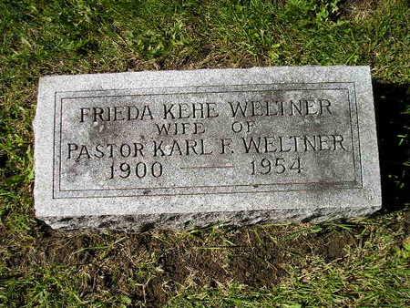 WELTNER, FRIEDA - Bremer County, Iowa | FRIEDA WELTNER