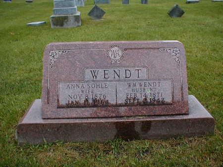 WENDT, ANNA - Bremer County, Iowa | ANNA WENDT
