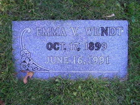 WENDT, EMMA V - Bremer County, Iowa | EMMA V WENDT