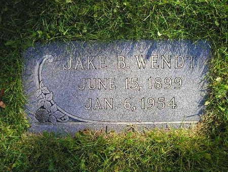 WENDT, JAKE B - Bremer County, Iowa | JAKE B WENDT