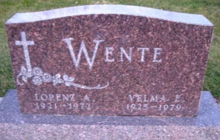 WENTE, LORENZ A - Bremer County, Iowa | LORENZ A WENTE