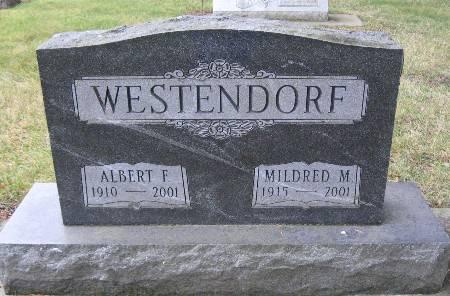 WESTENDORF, MILDRED M - Bremer County, Iowa | MILDRED M WESTENDORF